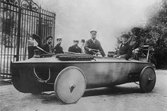 Inventor sports a car boat invention which offers on water and overland…