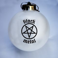 black metal christmas ornament - Heavy Metal Christmas Decorations