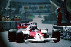 Alain Prost | McLaren MP4/2C | Monaco Grand Prix, 1986.