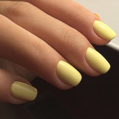 Cheerful is a pale buttercup yellow that looks amazing both shiny and matte. Nails done using Cheerful by @regina_nails_kem. Luxio is 100% pure gel that is odorless and solvent free. Because it is not mixed with polish like some other brands, it offers more durability without any of the traditional side effects. LUXIO