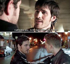 Killian Jones, Devoted Brother.