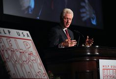 President Bill Clinton during the Help USA Tribute Awards Dinner, Honoring President Bill Clinton, Governor Mario Cuomo and Matilda Cuomo, held at the Waldorf Astoria in New York City, Tuesday, June 5, 2012.