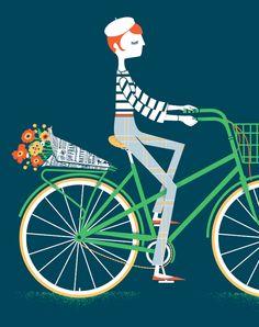 Illustrator, Jayde Cardinalli / via Bright.Bazaar