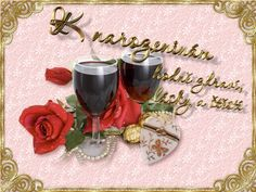 Red Wine, Alcoholic Drinks, Table Decorations, Rose, Glass, Motto, Humor, Alcoholic Beverages, Pink