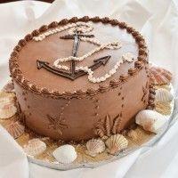 Patrick's nautical groom's cake by Fiona Bakery.  October 13th, 2012.