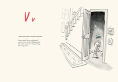Oliver Jeffers - Once Upon and Alphabet. Harper Collins Children's Books, 2014.