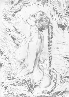 Lara Croft by Hique by Ed-Benes-Studio on DeviantArt