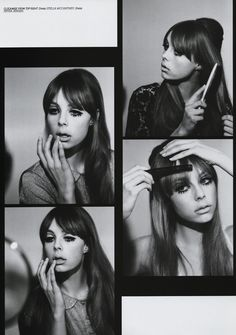 Gallery Update - Edie Campbell as Pattie Boyd for Lula - I absolutely love this shoot I worked on for the current issue of Lula Magazine. The story was based around a set of pictures Pattie Boyd did in the 60's ....a kind of beauty 'How To'. Twiggy also did a similar thing around the same time and b...