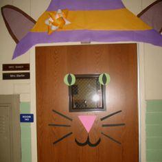 Classroom Door - My Cat