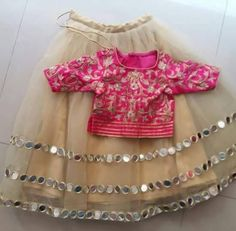 How much this item Kids Indian Wear, Kids Ethnic Wear, Kids Lehenga, Baby Lehenga, K Fashion, Baby Girl Fashion, Little Girl Dresses, Girls Dresses, Baby Dresses