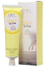"Hello! Yellow Shea Butter Hand Cream ($14) This shea butter whip is sprinkled with natural vanilla and citrus oils. Hello!  A giftably gorgeous ""joyful jumping on the bed scene"" on the box makes a pretty keepsake."