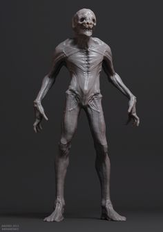 Grey Session, Andrei Abramenko on ArtStation at… Creature 3d, Beast Creature, Creature Concept Art, Creature Feature, Creature Design, Zbrush Character, Alien Character, Character Poses, Character Concept