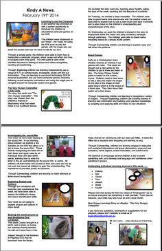 Another program newsletter example Eylf Learning Outcomes, Learning Stories Examples, Kindergarten Portfolio, Emergent Curriculum, Infant Classroom, Project Based Learning, Learning Through Play, Early Childhood Education, Early Learning