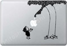 The Giving Tree Mac cover! I still have this book. It was always my favorite.