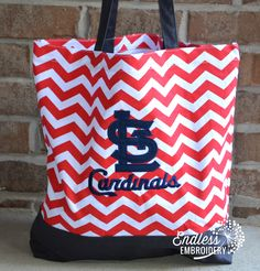 ST. LOUIS CARDINALS with CHEVRON!!