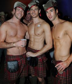Travel to Scotland for the beautiful, uhmm, landscapes.... Ok fine for the men in kilts and their wonderful accents! *Drool* They can talk to me all day long!!!!