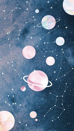 wallpaper pastel Wallpaper Zodaco e Planetas by Gocase space wallpaper Tumblr Wallpaper, Kawaii Wallpaper, Disney Wallpaper, Cartoon Wallpaper, Wallpaper Quotes, Planets Wallpaper, Wallpaper Space, Iphone Background Wallpaper, Travel Wallpaper