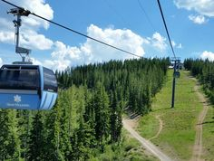 Ride the longest gondola in the world at Silver Mountain Resort in Kellogg.