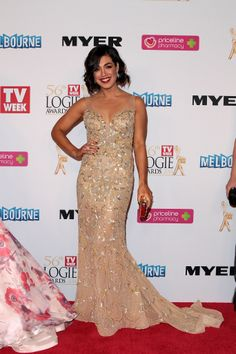Melanie Vallejo at the 2014 TV Week Logie Awards