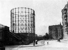 Berlin Schöneberg 1911 Der Gasometer