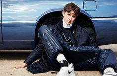 Enjoy the Ride. Photo by Roman Goebel. Styling Christian Stemmler. For L'Officiel Hommes Germany.  menswear mnswr mens style mens fashion fashion style editorial