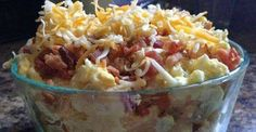 If you are a fan of big stuffed baked potatoes, then you'll love the twist this recipe brings to the table. It delivers all the scrumptious flavors like sour cream, Cheddar cheese, and bacon, and …
