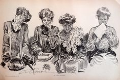 Charles Dana Gibson's illustrations
