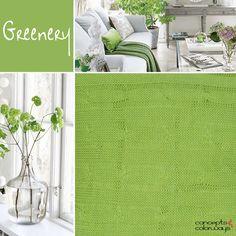 pantone greenery, bright green, lime green, apple green, spring green, 2017 color trends, color trends, color for interiors, bright green interiors
