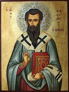 St Basil for Felt Icon. Religious Images, Religious Icons, Roman Church, St Basil's, Religious Paintings, Image Painting, Russian Orthodox, Catholic Saints, I Icon