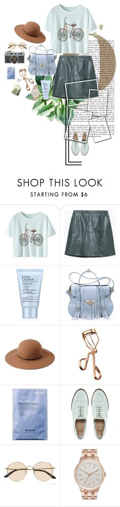 """""""let's go crazy"""" by deemvl18 ❤ liked on Polyvore featuring Zara, Estée Lauder, Ella Rabener, Forever 21, Tweezerman, ASOS, The Row, DKNY and Sole Society"""
