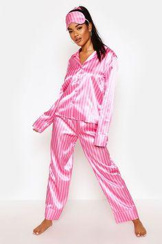 Pink Silk Pajamas, Sexy Pajamas, Cute Pajamas, Satin Pajamas, Pajamas Women, Pyjamas, Pjs, Cute Pajama Sets, Pj Sets