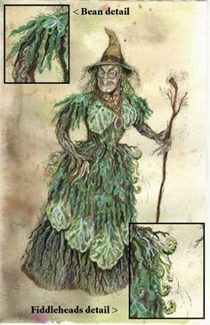 into the woods baker costume rendering | For reference, the design rendering by…