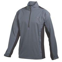 Puma Golf 1/4 Zip Longsleeve Storm Jacket - Turbulance
