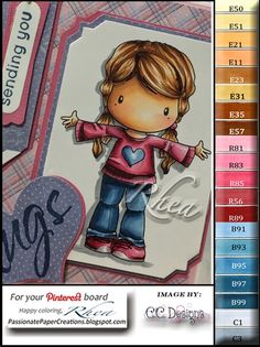 Hugs Lucy - Sneak Peek C.C. Designs