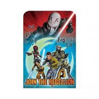 """1 x pack of 8 Star Wars Rebels party invitation postcards includes 8 Red envelopes, 8 Star Wars Sticker seals and 8 """"Save the Date"""" stickers. ON SALE Wholesale Party Supplies, Online Party Supplies, Kids Party Supplies, Star Wars Stickers, Printed Balloons, Postcard Invitation, Star Wars Party, Star Wars Rebels, Party Packs"""