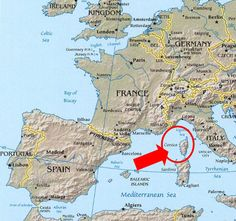 Map Of Corsica Corse 1800francecom Island Of Corsica France
