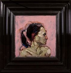 http://www.boumbang.com/esnol-laurence/ H. Craig Hanna, Rose, 2012, acrylique et encre sous Perspex, 53 x 53 cm (hors cadre) © H. Craig Hanna