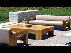 Solid Teak Wood Outdoor Furniture By Marmol Radziner