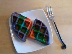 Little Happies: Rainbow Waffles