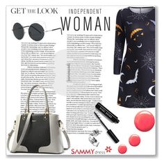 """""""Independet Woman"""" by mery66 ❤ liked on Polyvore featuring Bobbi Brown Cosmetics and Topshop"""