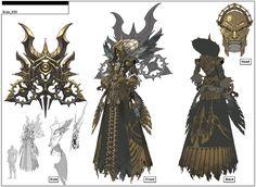 Boss,by Cho Kyeong Seok Fantasy Concept Art, Game Concept Art, Fantasy Armor, Dark Fantasy, Character Creation, Character Concept, Character Art, Armor Concept, Creature Concept