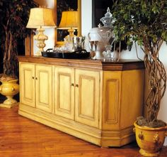 Possible dining room buffet.