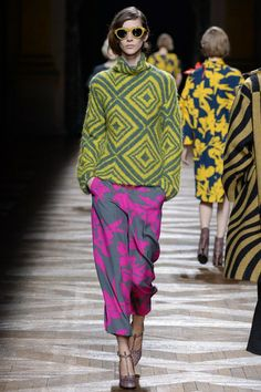 Dries Van Noten. Autumn Winter 2014/15 Paris FW