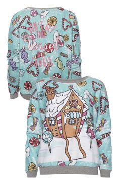 Primark - Christmas Gingerbread House Sweat Top £10