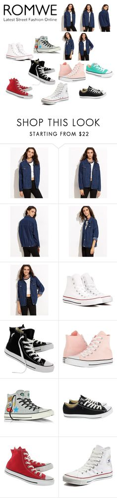 """""""shoes and photoshoots"""" by ollymursnumber1fan ❤ liked on Polyvore featuring Converse"""