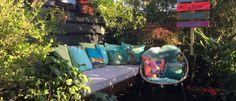 Tropische tuin Ibiza tuin Aloha wegwijzer bordjes TUINONTWERPBUREAUGEELS 1