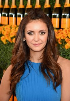 Pin for Later: Hollywood's Hottest Stars Step Out For a Fancy Polo Match Nina Dobrev