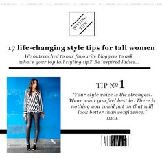 17 Life-Changing Style Tips for Tall Women Tall Women Fashion, Clothing For Tall Women, Clothes For Women, Womens Fashion, Diva Fashion, Fashion Art, Fashion Tips, Wardrobe Solutions, Long Tall Sally