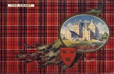 Scotland Clans Bell Location | Grant postcard 1890's