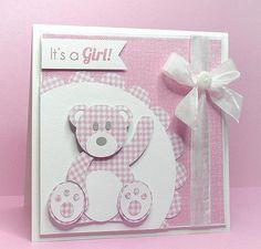 FREE SVG teddy card